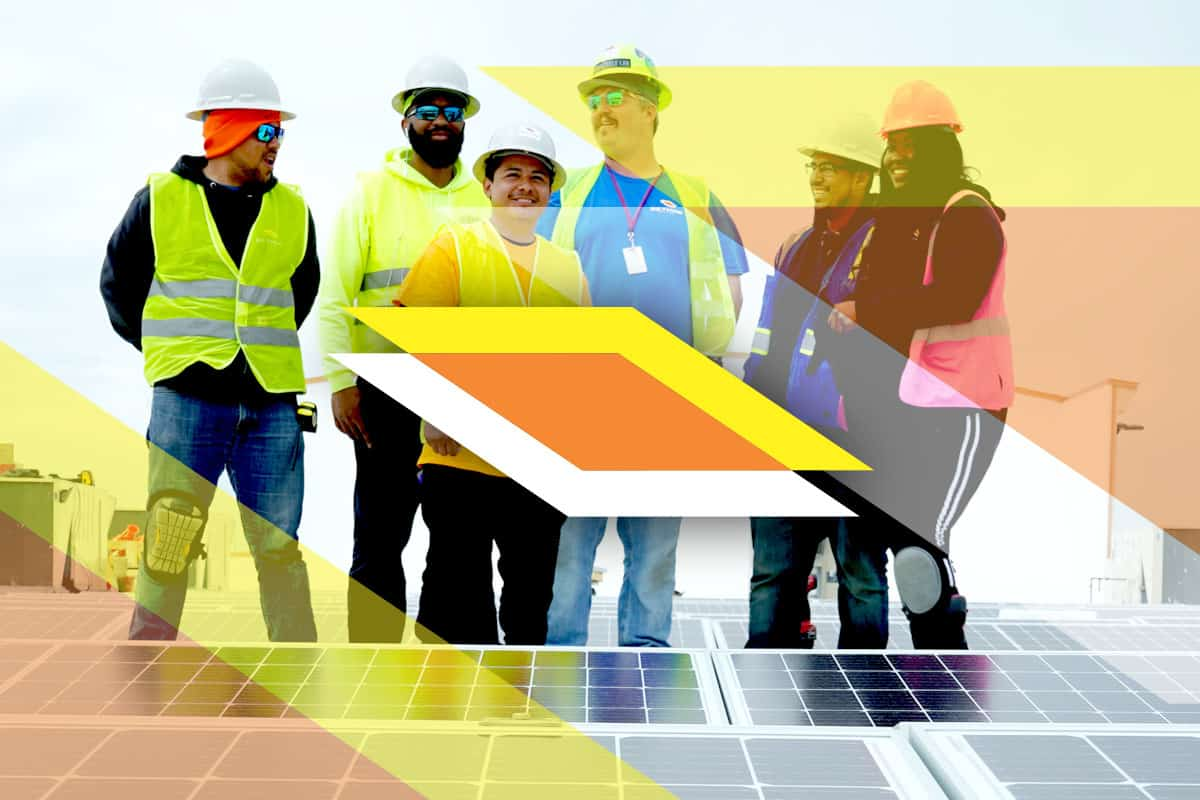 Rethink Electric Solar Installation Crew