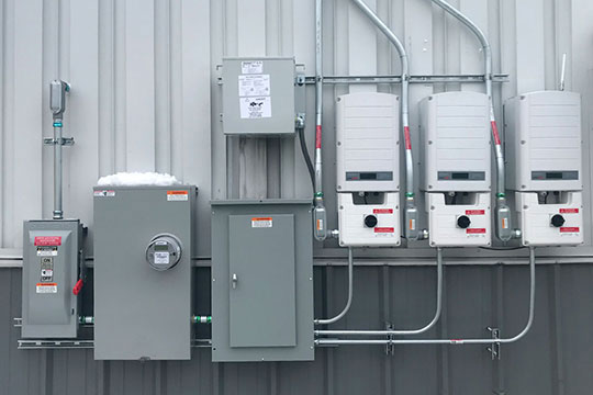 Electrical and Solar Panel Boxes