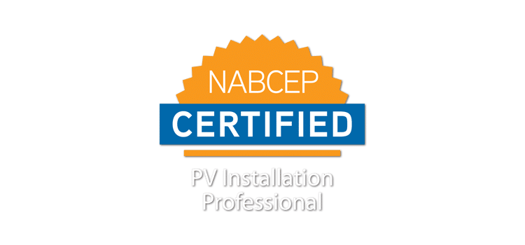NABCEP Certified Badge - Rethink Electric