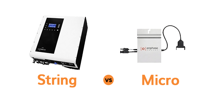 Micro vs. String Inverters for Solar Panels - Rethink Electric