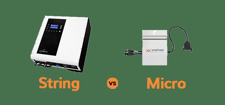Micro vs. String Inverters