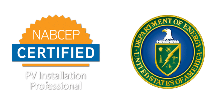 NABCEP and DOE Badges - Rethink Electric