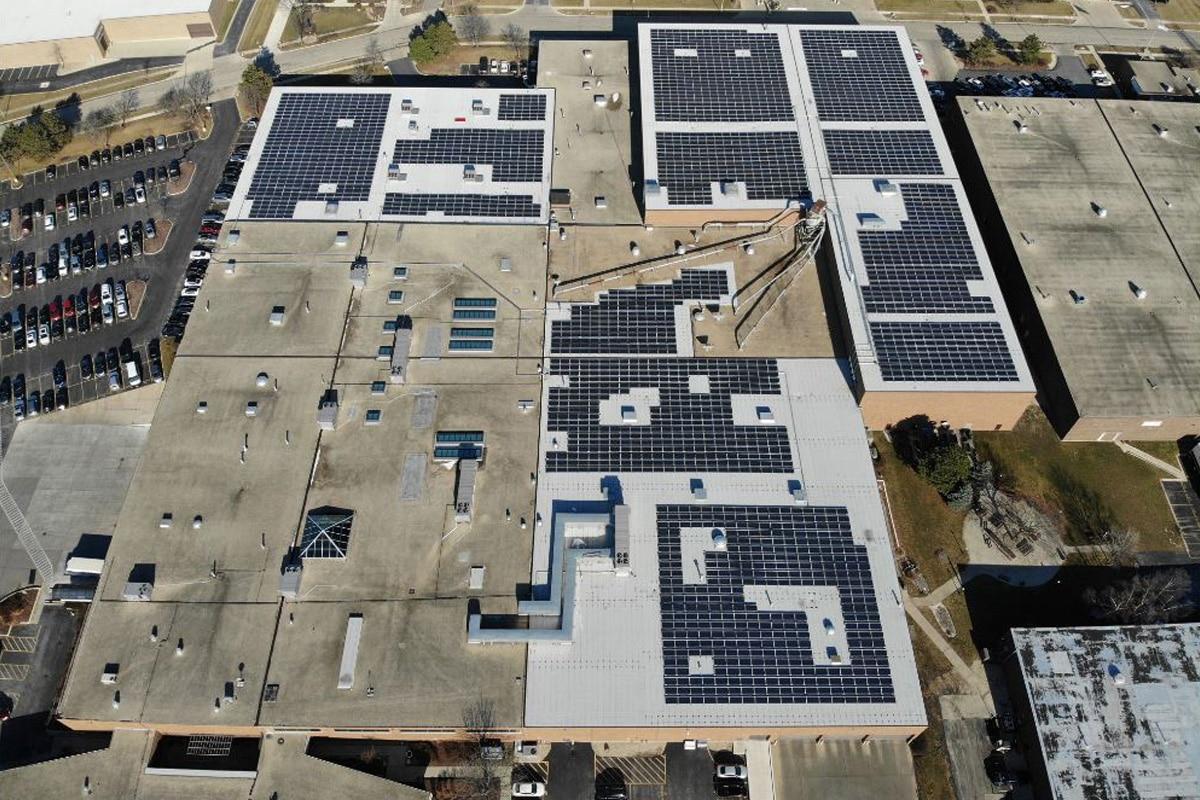 Itasca, Illinois solar install
