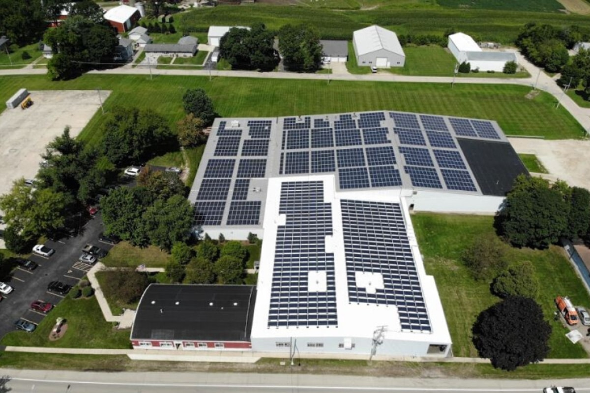 Keystone Displays Solar Installation