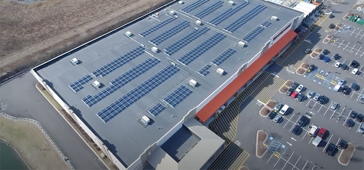 Hoem Depot Solar Installation - Rethink Electric