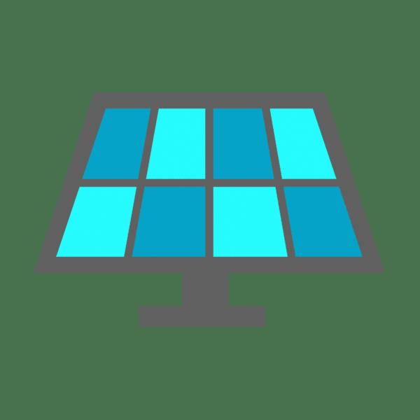 Home Solar Panel Installation Icon