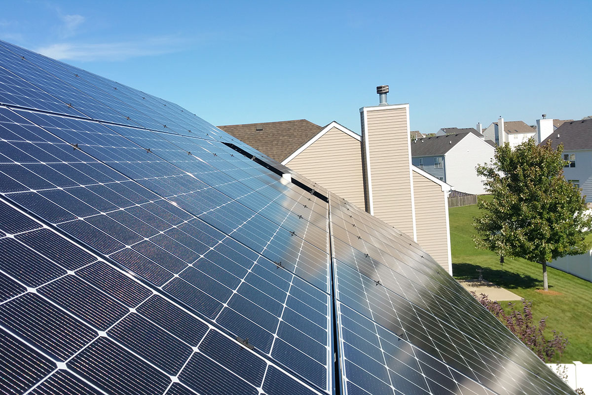 Residential Solar Installation in Joliet, Illinois - Rethink Electric