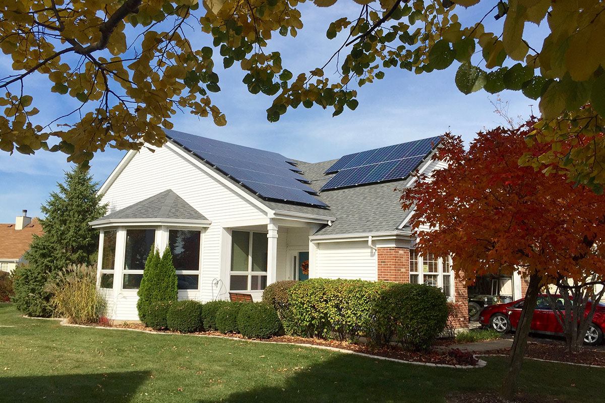Solar Installation in Plainfield, Illinois - Rethink Electric