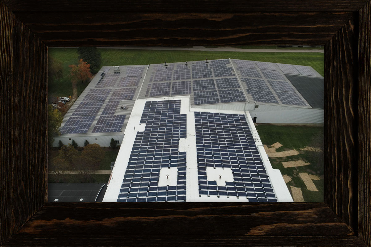 Commercial Solar Projects at Rethink Electric