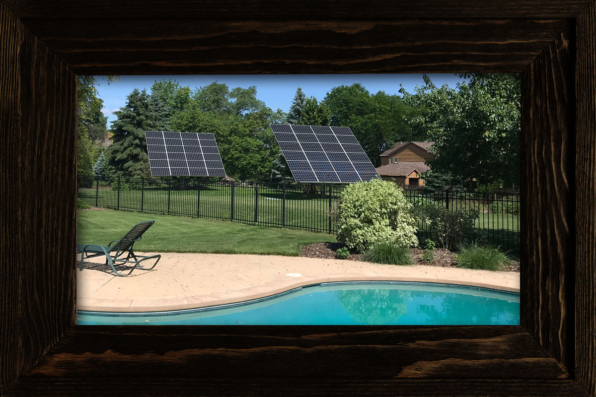 Ground Mount Residential Solar Panels in Winfield IL