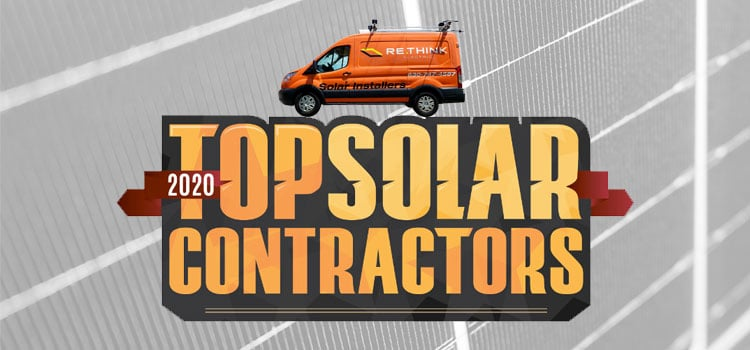 Rethink Electric rated top solar contractor in Illinois