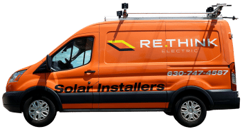 Commercial Solar Installation Chicago - Rethink Electric Van